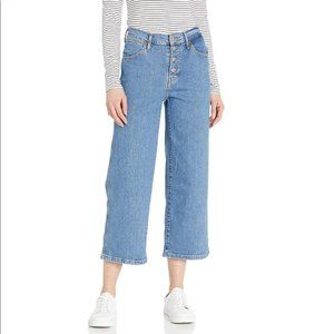 Levi's Mile High Cropped Wide Leg Size 6